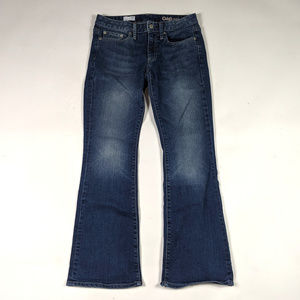 Gap 1969 Long & Lean Flare Size 26 Short Jeans